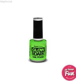 Smiffys Glow in the Dark Green Nail Polish