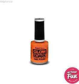 Smiffys Glow in the Dark Orange Nail Polish