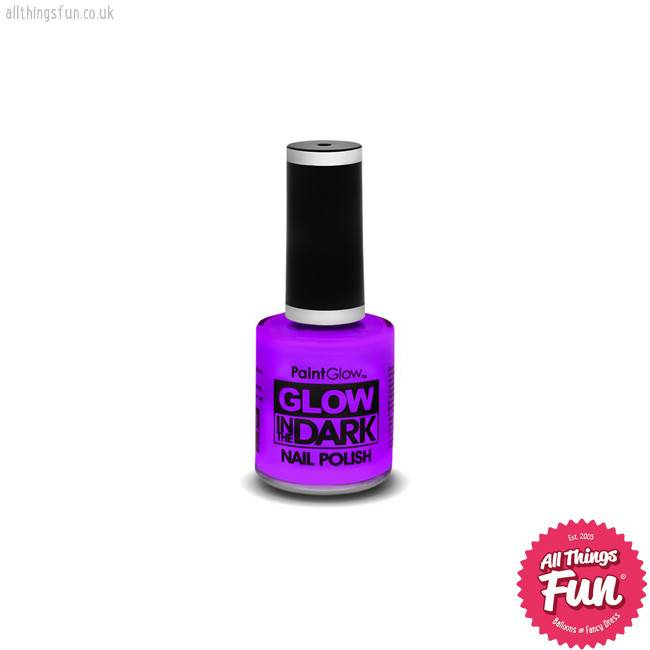 PaintGlow *DISC* Glow in the Dark Violet Nail Polish - All Things ...