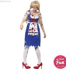 Smiffys Zombie Bavarian Female Costume