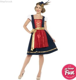 Smiffys Traditional Deluxe Claudia Bavarian Costume