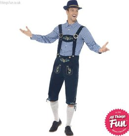 Smiffys Traditional Deluxe Rutger Bavarian Costume