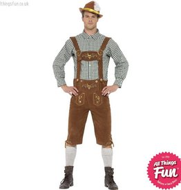 Smiffys Traditional Deluxe Hanz Bavarian Costume