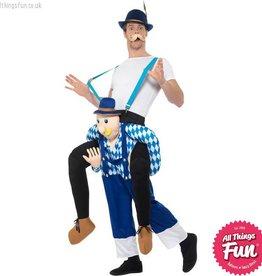 Smiffys Piggyback Bavarian Blue Costume