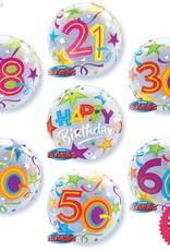 Birthday Brilliant Stars  Bubble Luxury