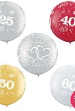 Anniversary Giant Latex (25th, 40th, 50th, 60th)