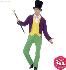 Smiffys Roald Dahl Adult Willy Wonka Costume