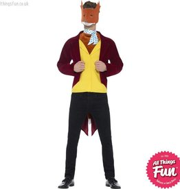 Smiffys Roald Dahl Adult Fantastic Mr Fox Costume