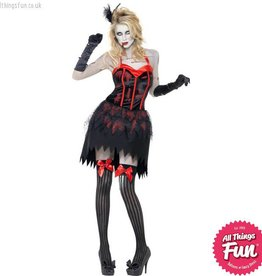 Smiffys Zombie Burlesque Costume Medium