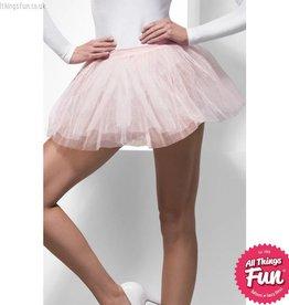 Smiffys Pink Tutu Underskirt with 4 Layers
