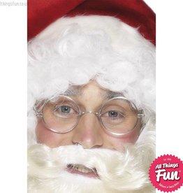 Smiffys Round Wire Framed Santa Specs