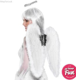 Smiffys White Angel Set