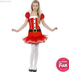 Smiffys *DISC* Little Miss Santa