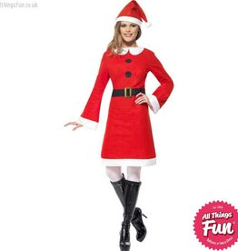 Smiffys Miss Santa