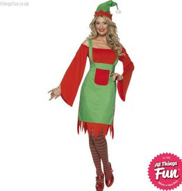 Smiffys Cute Elf Costume