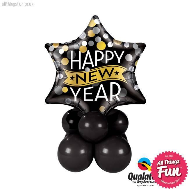 New Year Confetti Dots Super