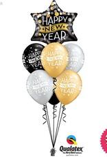 New Year Confetti Dots Bubble Luxury