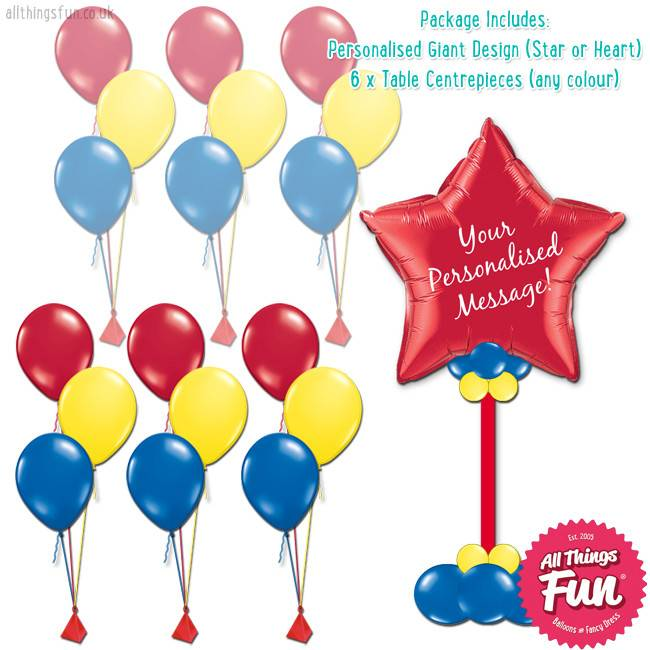 All Things Fun Party Package