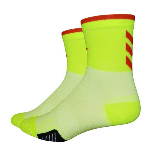 "Defeet Cyclismo 3"" Hi Vis socks"