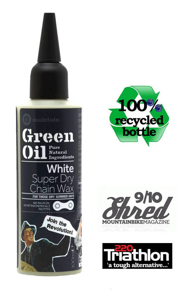 Green Oil Green Oil White super dry chain wax 100ml