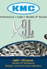 KMC X9-L Silver Chain 116L