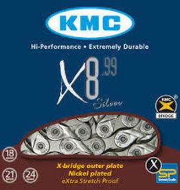 KMC X8-99 Silver Chain 116L
