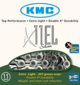 KMC X11-EL Silver Chain 114L