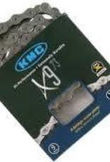 KMC X9-73 Grey Chain 116L