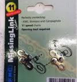 KMC KMC 11X Chain Links Silver Card Of 2