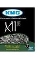 KMC X11-93 Sil/Grey Chain 114L
