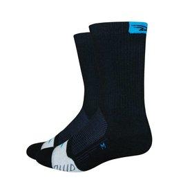 "DE FEET De Feet Thermeator 6"" Black/Process Blue"