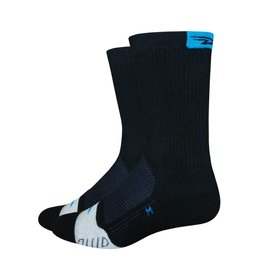 "De Feet Thermeator 6"" Black/Process Blue"