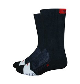 "Defeet Thermeator 6"" Black/Red"