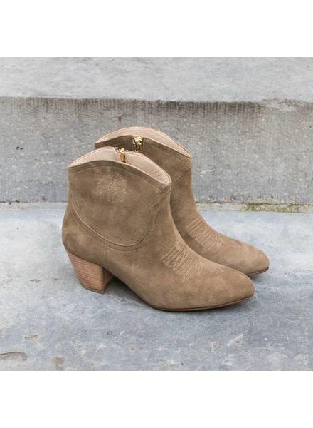 Anine Bing Dakota boots - Beige