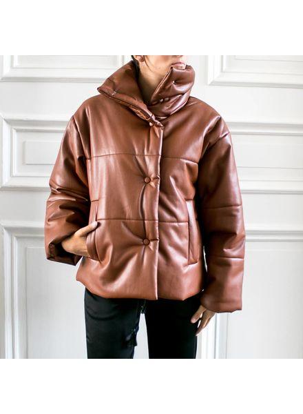 Nanushka Hide - Rust