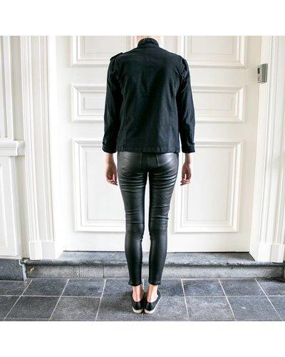 Anine Bing Biker Leather Pants