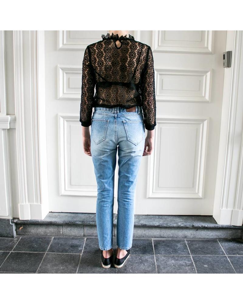 Anine Bing Frida jeans-light blue
