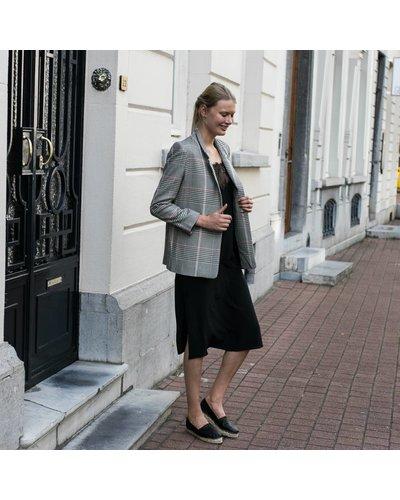 Anine Bing AB CORE Deep V Lace Slip Dress