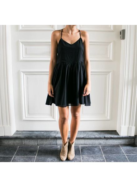 Anine Bing Black Summer dress - Black
