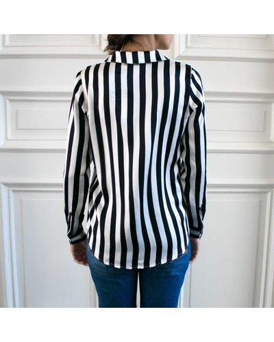 Anine Bing AB Blair silk shirt