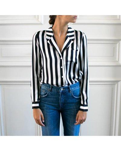 Anine Bing Blair silk shirt