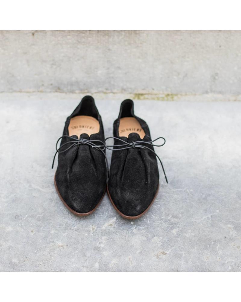 Soloviere Mattea Bed - suede black