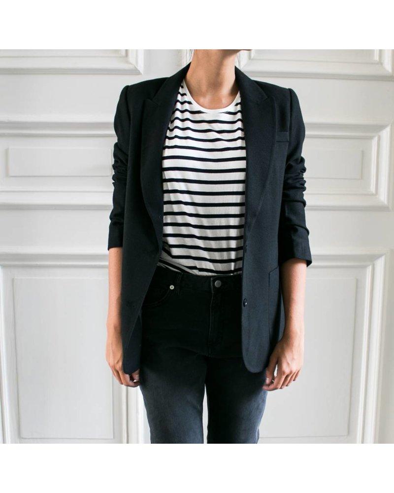 Anine Bing Classic fit Blazer - Black