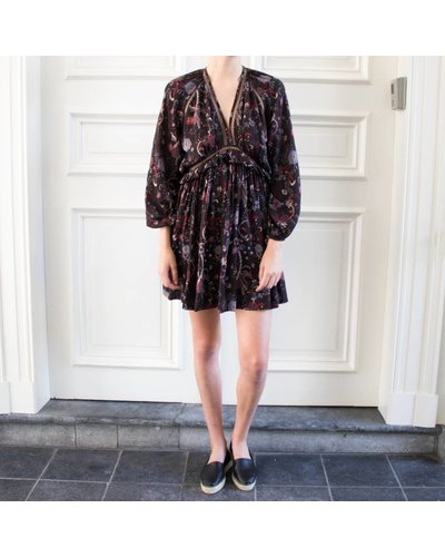 Magali Pascal Drew Dress - Black Phoenix