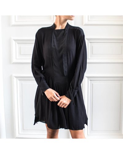 Magali Pascal Phoenix Shirt dress - Black
