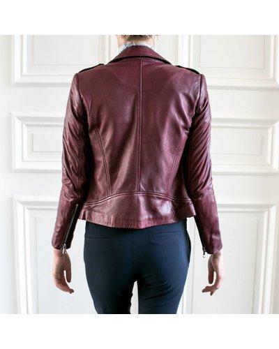 SET Leather Jacket - Bordeaux