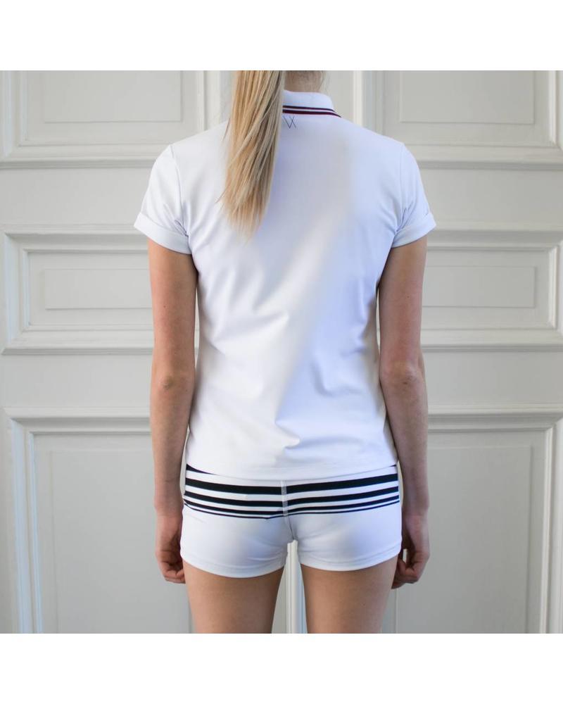 Marie short - Black Stripes