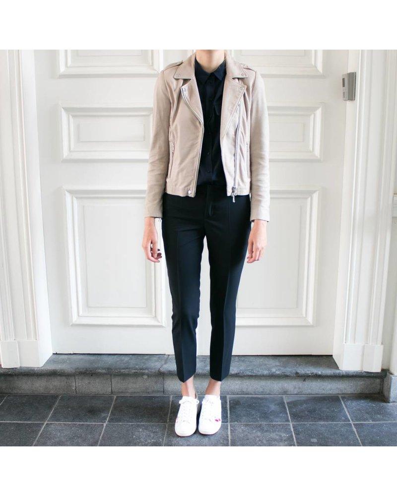 SET Leather Jacket - Stone