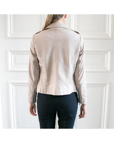 SET Leather Jacket - Stone