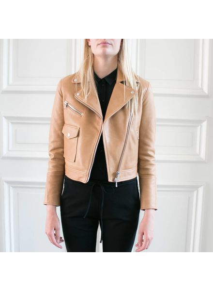 SET Leather Jacket - Chipmunk